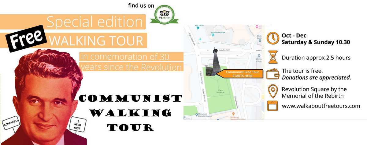 free communist tour bucharest