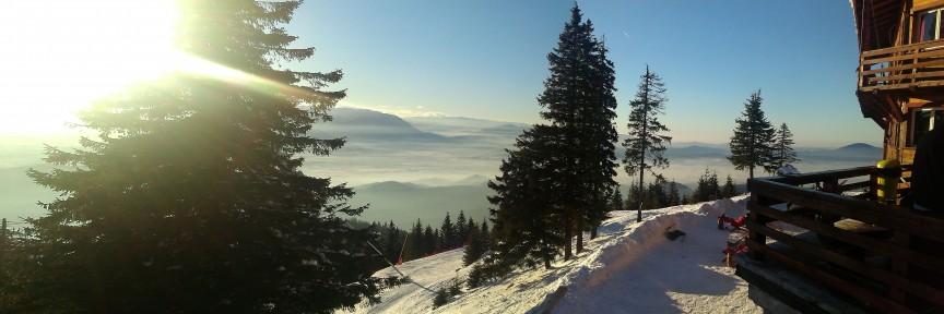 Visiting Brasov during the winter? Here are a few sports that you can try in the cold season!