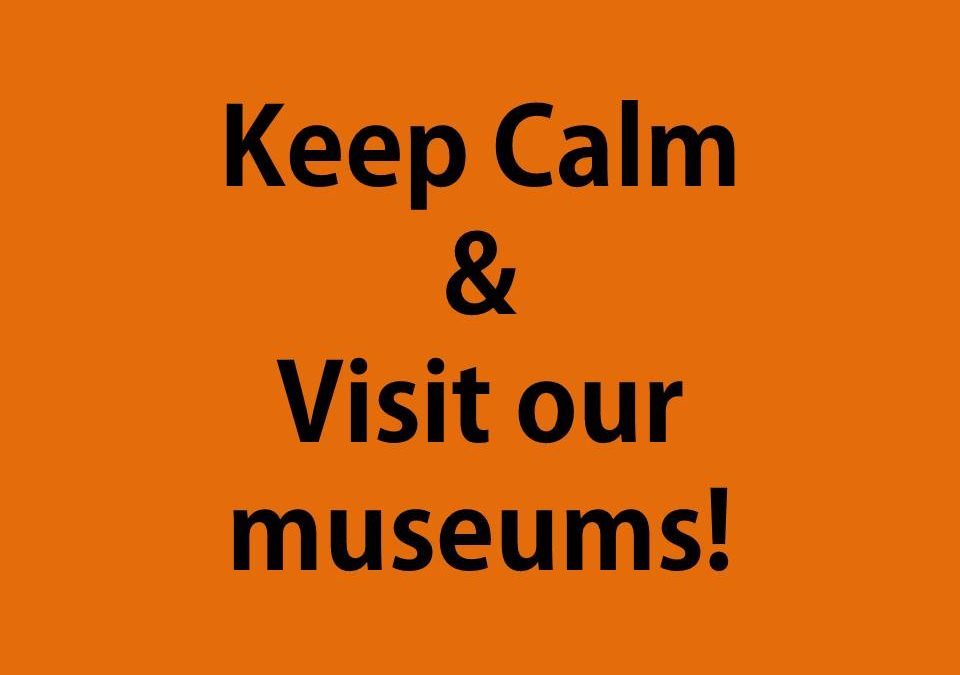 Don't be afraid to discover our museums